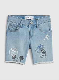 babyGap &#124 Disney Mickey Mouse Denim Shorts