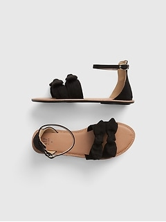 Kids Bow Sandals