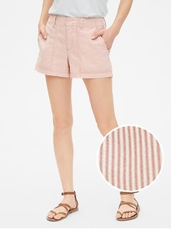 "3"" Utility Stripe Shorts"