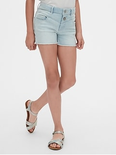 High Rise Shorty Shorts