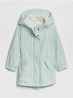 Toddler Stripe Parka Jacket