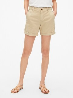 "5"" Girlfriend Chino Shorts"