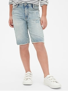 Five-Pocket Denim Shorts