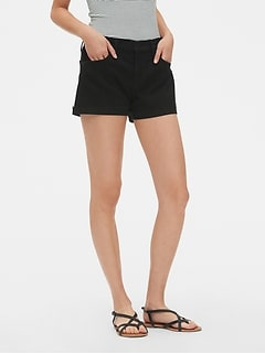 "Mid Rise 3"" Denim Shorts"