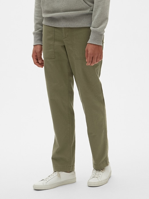 Gap Utility Pants in Straight Fit with GapFlex