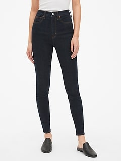 Sky High True Skinny Jeans with Secret Smoothing Pockets