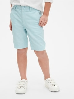 Everyday Shorts in Linen-Cotton