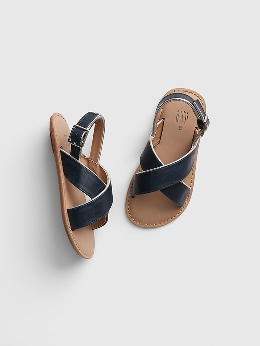 Toddler Cross-Strap Sandals