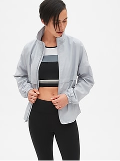 GapFit Reflective Windbreaker
