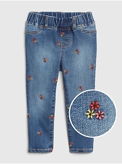 Floral Jeggings with Fantastiflex
