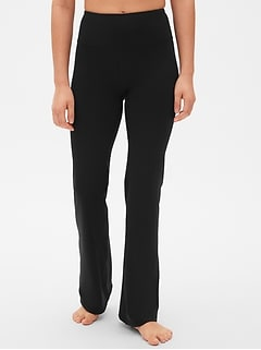 GapFit High Rise Studio Pants in Eclipse