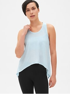 GapFit Breathe Tie-Back Tank Top