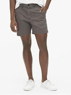 """7"""" Vintage Khaki Shorts with GapFlex"""