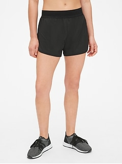 "GapFit 3"" Running Shorts with Perforated Waistband"