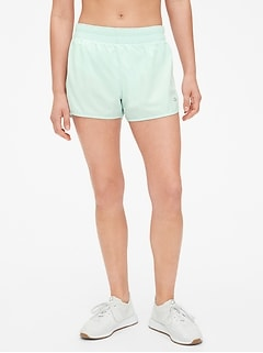 "GapFit 3"" Side-Stripe Running Shorts"