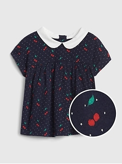 Baby Peter Pan Collar Top
