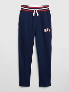 Kids Gap Logo Pull-On Slim Pants