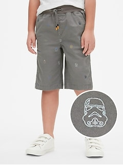 GapKids &#124 Star Wars&#153 Pull-On Shorts