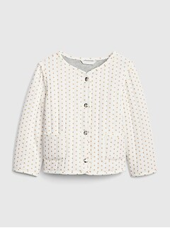 Dot Quilted Jacket