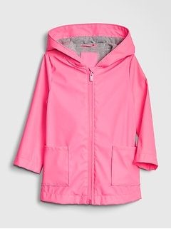 Toddler Jersey-Lined Rain Jacket
