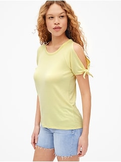 Softspun Tie-Sleeve Top