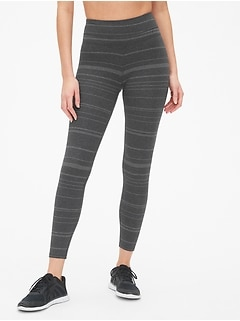 GapFit Stripe 7/8 Leggings in Performance Cotton