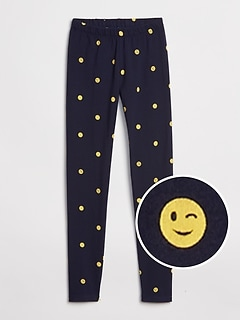 Kids Leggings in Stretch Jersey