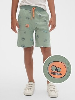 Kids Slouchy Pull-On Shorts