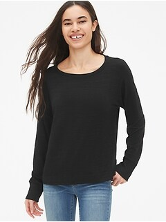 Softspun Boatneck Top