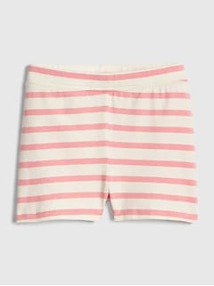 Toddler Stripe Cartwheel Shorts