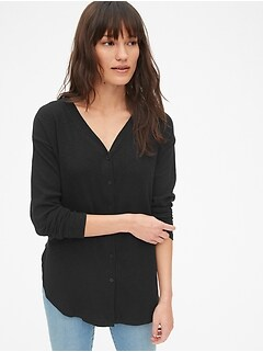Maternity Relaxed Nursing Ribbed Cardigan