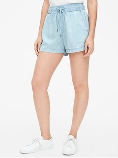 "3.5"" Drawstring Shorts in TENCEL™"