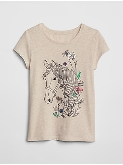 Kids Graphic Short Sleeve T-Shirt