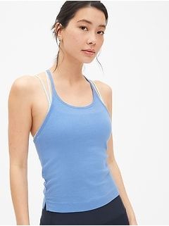 GapFit Ribbed Cami in Modal