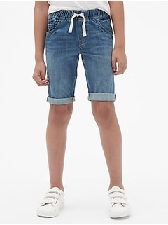 Kids Denim 5-Pocket Shorts