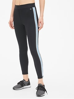 GapFit Blackout Side-Stripe Full Length Leggings