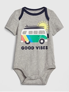 Baby Graphic Short Sleeve Bodysuit
