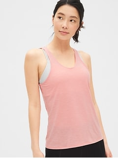 GapFit Breathe Crossback Tank