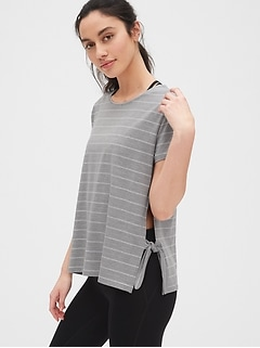 GapFit Breathe Side-Tie T-Shirt