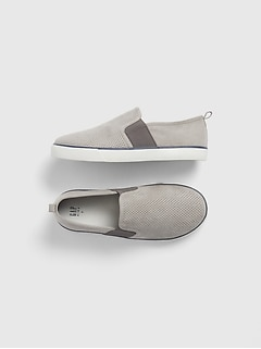 Kids Dressy Slip-On Sneakers