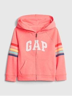 Gap Logo Stripe Hoodie Sweatshirt