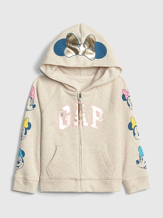 Disney Minnie Mouse Gap Logo Hoodie Sweatshirt (12 Month to 5 Years)