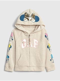 babyGap &#124 Disney Minnie Mouse Gap Logo Hoodie Sweatshirt