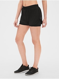 "GapFit 5"" Layered Running Shorts"