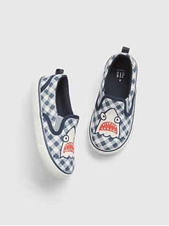 Toddler Shark Slip-On Sneakers