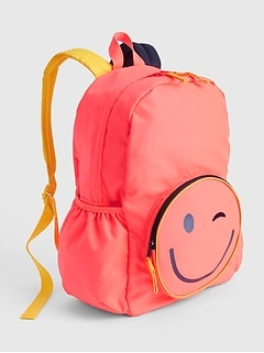 Kids Emoji Senior Backpack