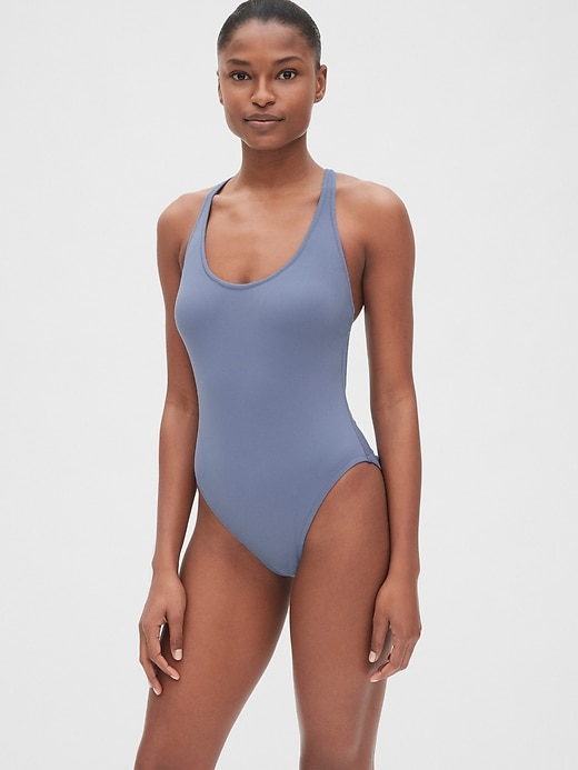 Crossback One-Piece Suit