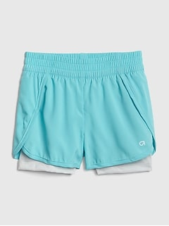 GapFit Kids Lined Shorts