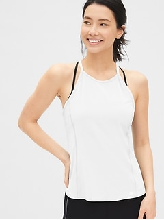 GapFit Mix-Fabric Cami