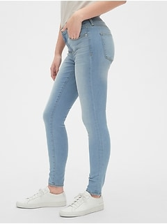 9fe0ad69fb7b2 Mid Rise True Skinny Jeans in Sculpt